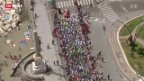 Video «Rad: 1. Etappe Giro d'Italia» abspielen
