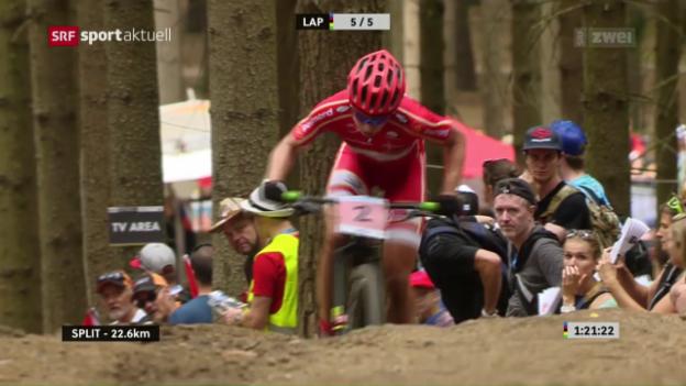 Video «Mountainbike: WM Cross Country Frauen» abspielen