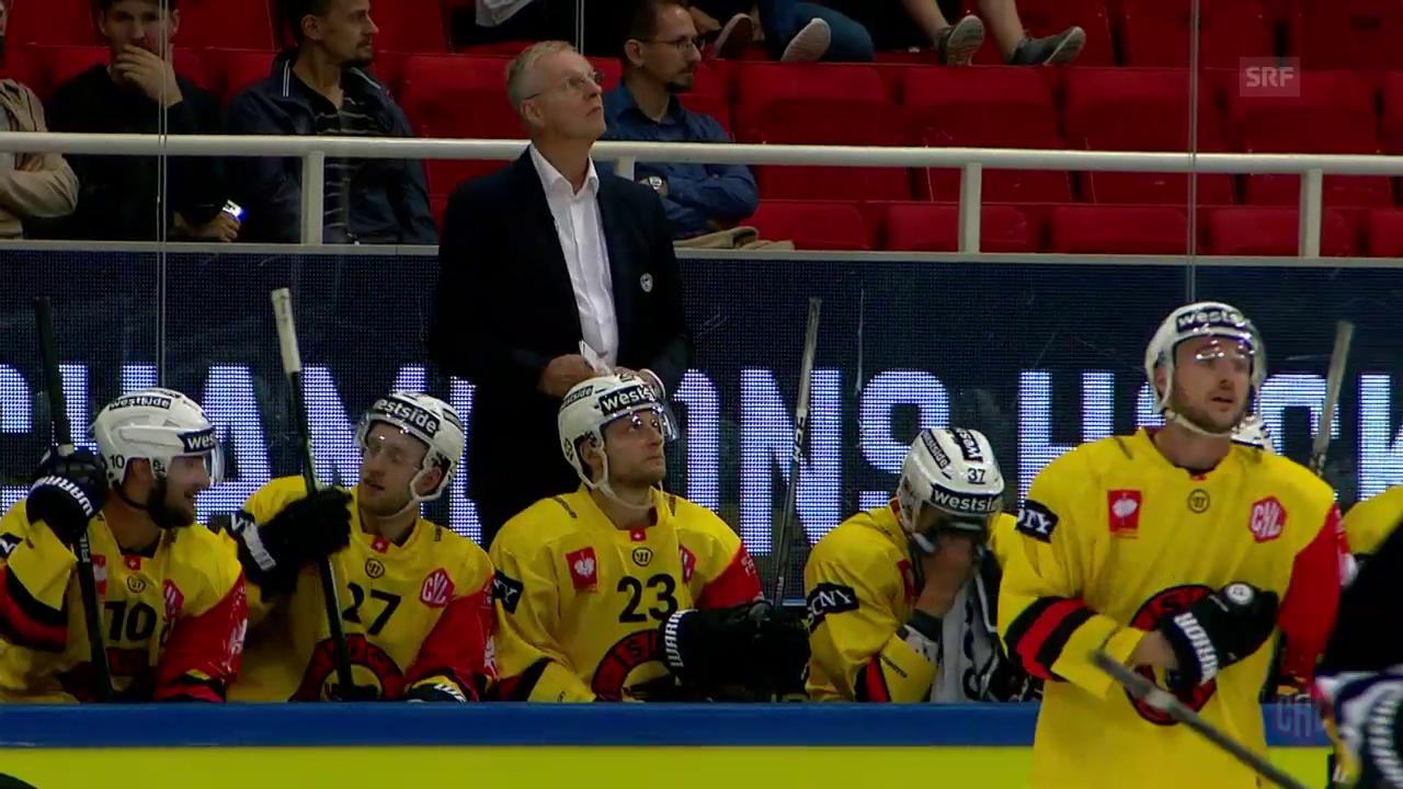 SCB kassiert gegen Turku 1. Niederlage