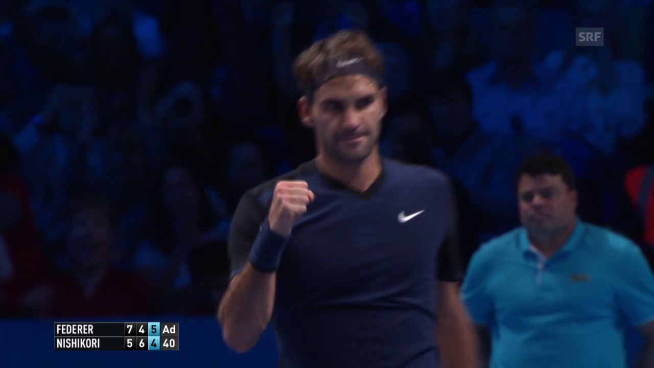 Tennis. ATP Finals, Federer-Nishikori