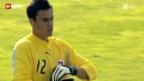 Video «Fussball: Benaglios Nati-Karriere» abspielen
