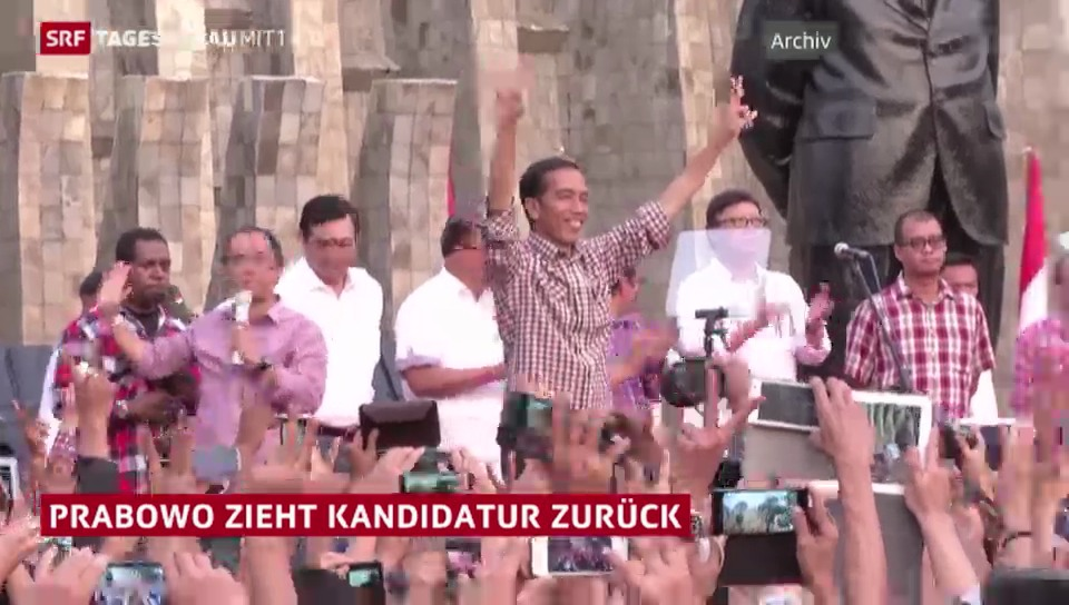 Wahl in Indonesien: Ein Kandidat zieht zurück
