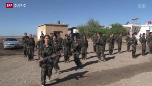 Video «Kurdische Kämpferinnen aus der Schweiz» abspielen