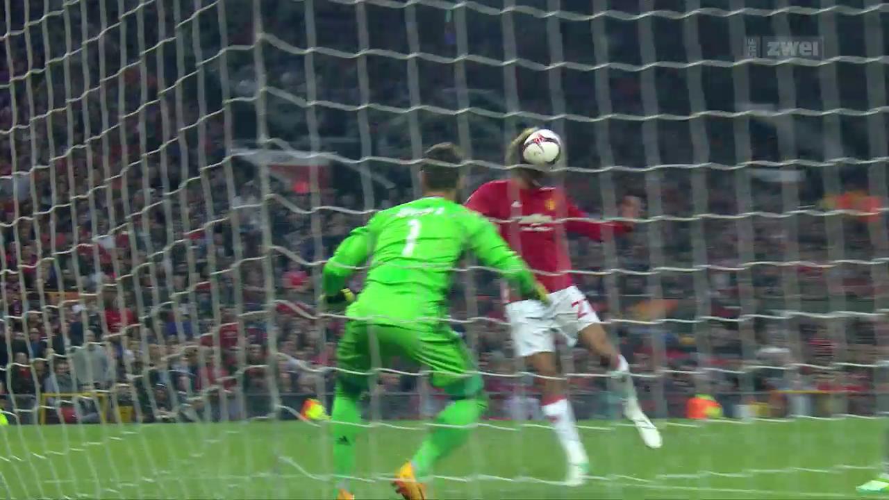 Manchester United zittert sich in den EL-Final