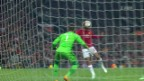Video «Manchester United zittert sich in den EL-Final» abspielen