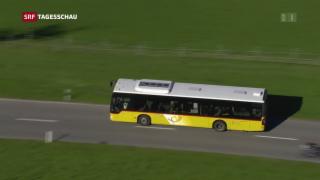 Video «Postauto-Skandal drückt auf Jahresgewinn» abspielen