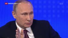 Video «Putin spricht über Trump und Aleppo» abspielen