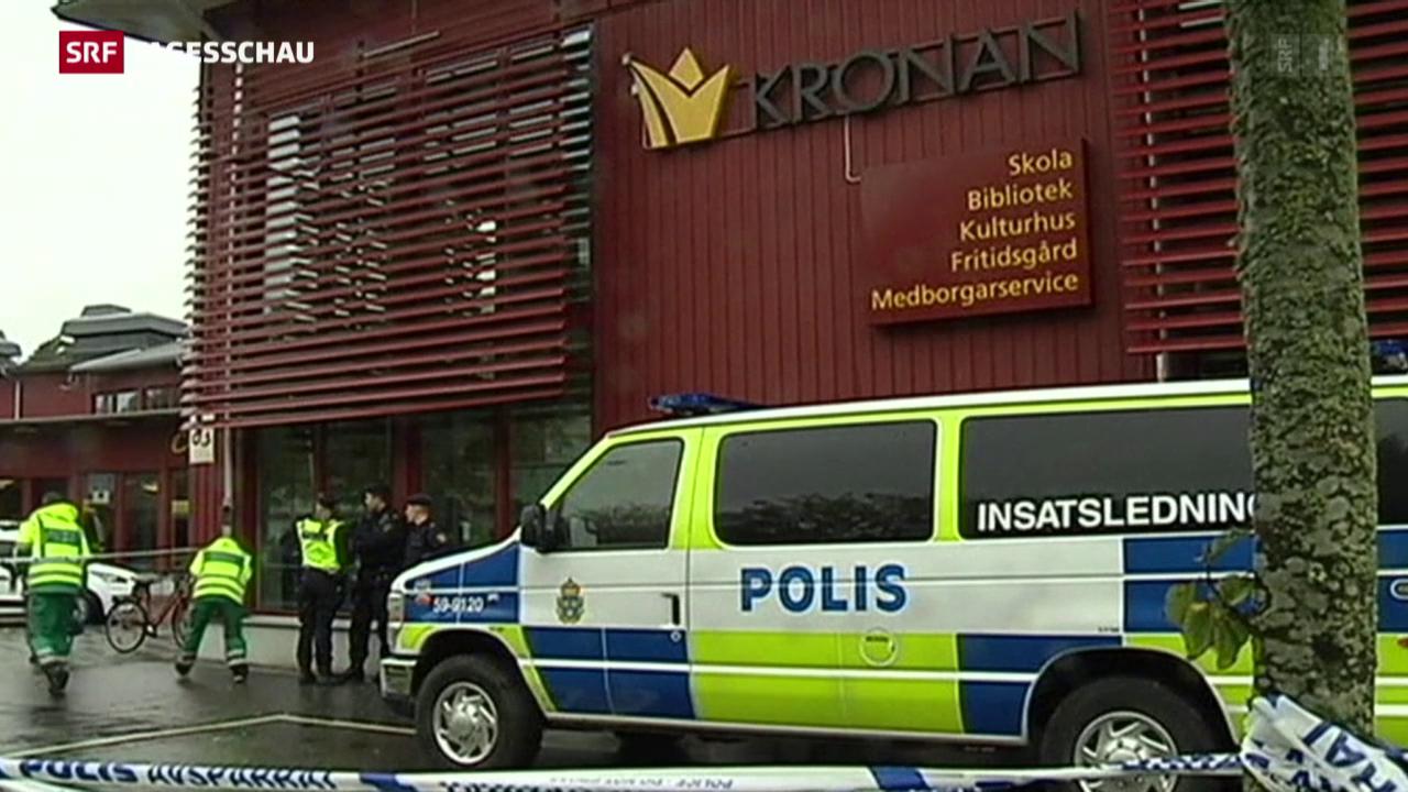 Attacke auf Schwedische Schule