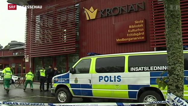 Video «Attacke auf Schwedische Schule» abspielen