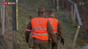 Video «FOKUS: Armee-Einsatz an Schweizer Grenze möglich» abspielen