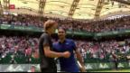 Video «Federer muss sich Zverev geschlagen geben» abspielen