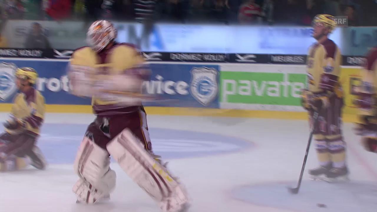 Eishockey: Aussetzer von Genf-Keeper Stephan