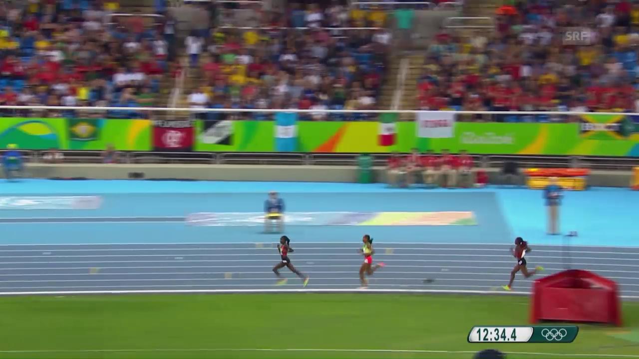 Kenianerinnen lassen Ayana im 5000-m-Final stehen