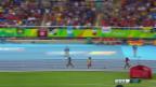 Video «Kenianerinnen lassen Ayana im 5000-m-Final stehen» abspielen