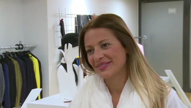 Video «Christa Rigozzi über ihren neuen Haar-Look» abspielen