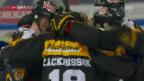 Video «Lugano gleicht gegen den ZSC aus» abspielen
