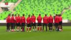 Video «WM-Qualifikationsspiel gegen Ungarn» abspielen