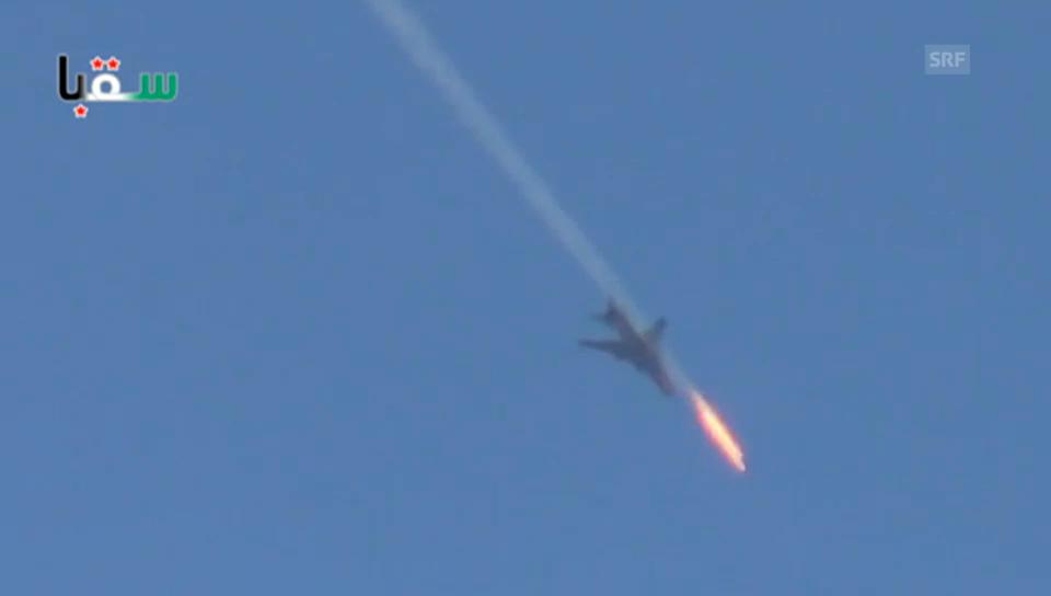 Syrische Luftwaffe schiesst weiter (unkomm.)
