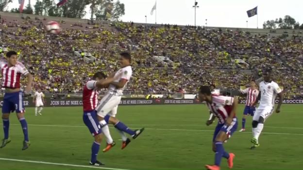 Video «Kolumbien mit zweitem Sieg im zweiten Spiel» abspielen