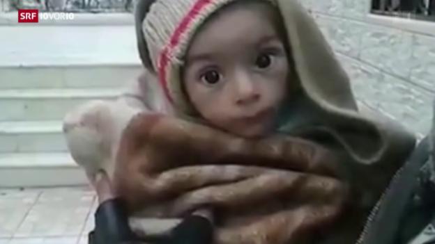 Video «FOKUS: Grausame Aushungerungs-Taktik in Syrien» abspielen