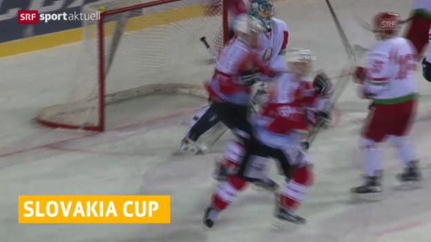 Video «Hockey-Nati unterliegt Weissrussland» abspielen