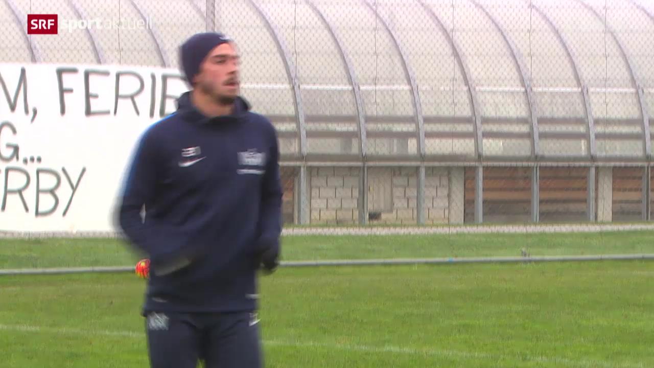 Fussball: Besuch beim langzeitverletzten Marco Schönbachler