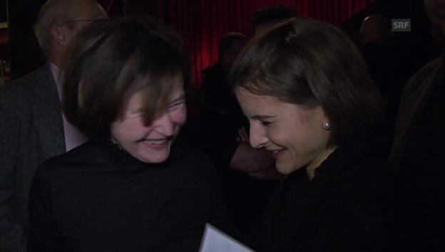 Video «Nicole Schai über ihre Grossmutter Elisabeth Kopp» abspielen