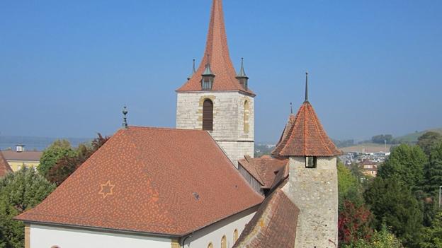 Glockengeläut der deutschen Kirche in Murten