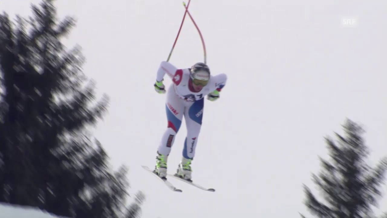 Ski: Fahrt Feuz Abfahrt Saalbach