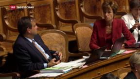 Video «Nationalrat entscheidet über Umsetzung des Zuwanderungsartikels» abspielen