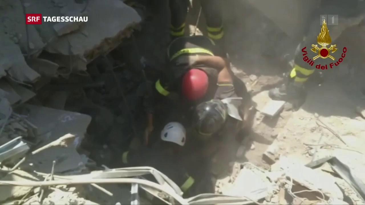 Erdbeben in Ischia
