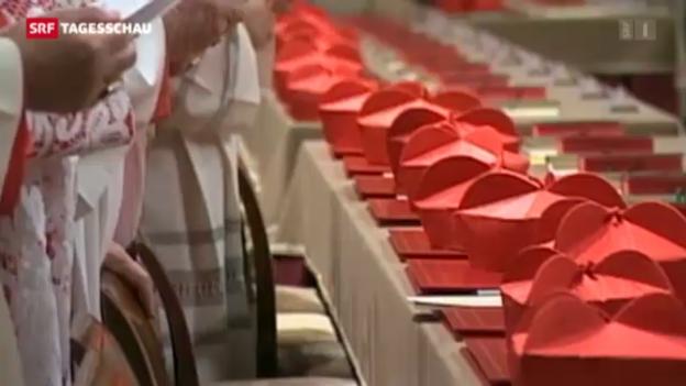 Video «So wird der nächste Papst gewählt» abspielen