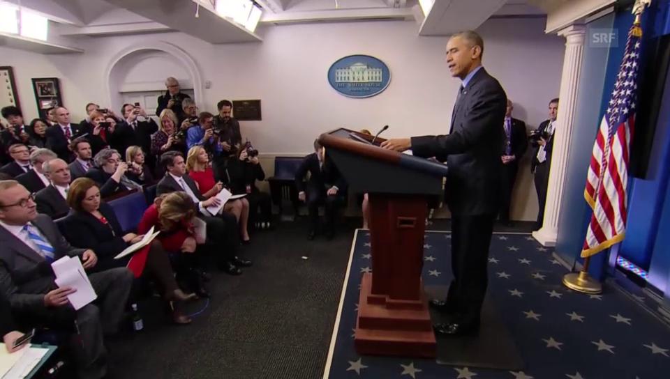 Obama: Opening und Gesundheitsreform (unkomm.)