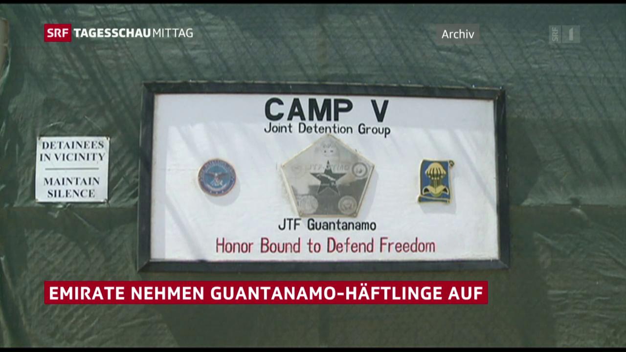 Guantanamo-Häftlinge entlassen