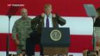 Video «US-Präsident Trump golft in Japan mit Premierminister Abe» abspielen