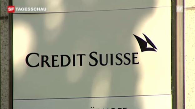 Video «Razzia in Credit Suisse Filialen» abspielen