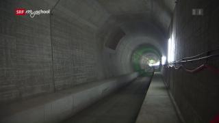 Video «Bauen im Berg: Schienen und Starkstrom (6/6)» abspielen