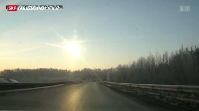 Spektakulärer Meteoriten-Einschlag im Ural