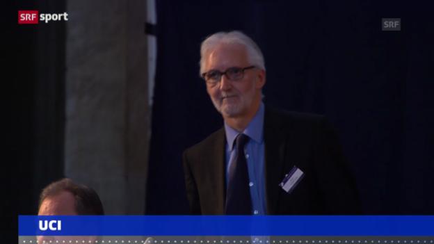 Video «Cookson neuer UCI-Präsident» abspielen