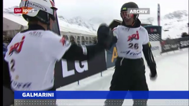 Video «Galmarini in Moskau «sportaktuell»» abspielen