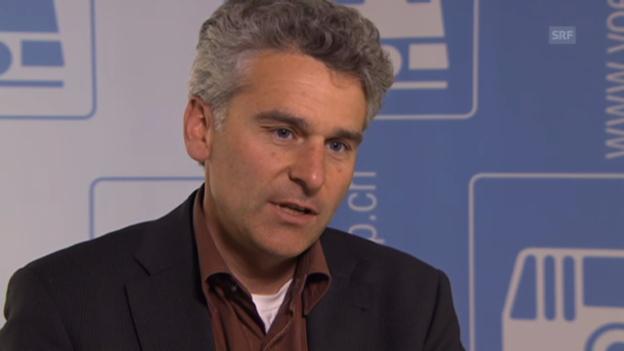 Video «Der Ansatz der Grünen sei gut, findet der VöV-Präsident Ueli Stückelberger.» abspielen