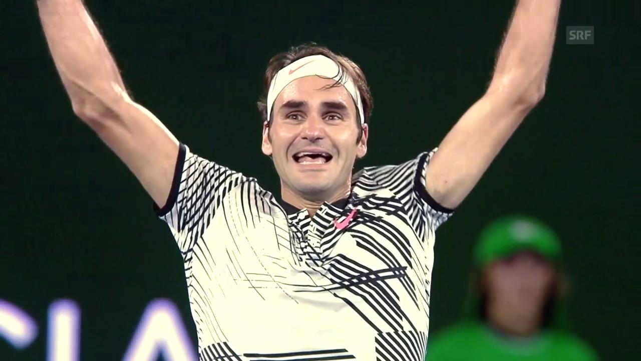 Rückblick auf Federers herausragende Saison 2017