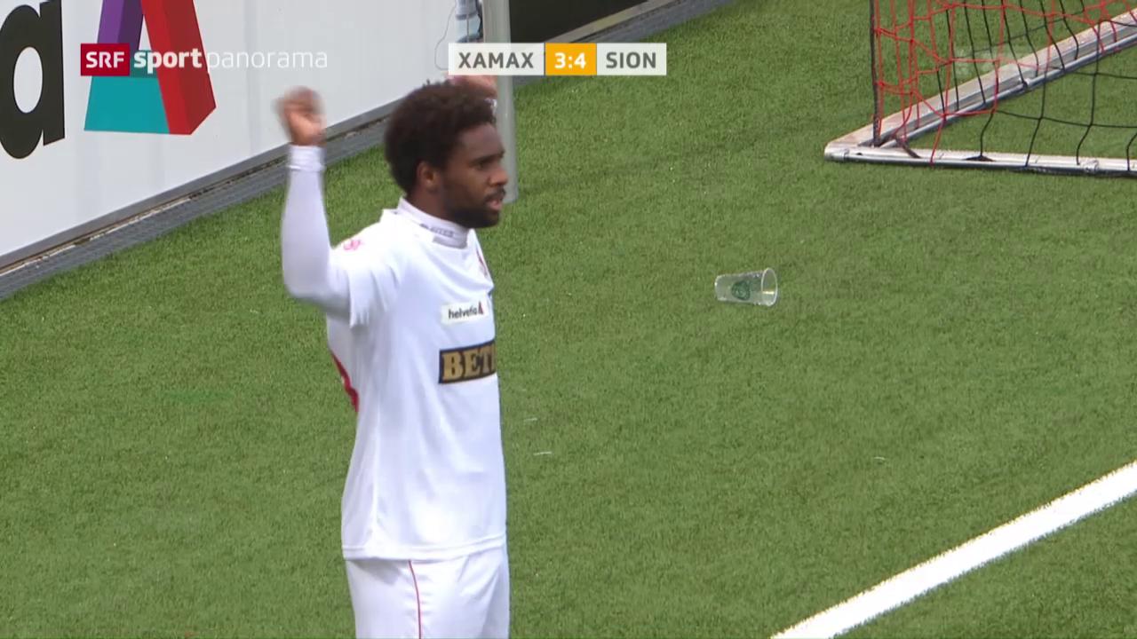 Sion gewinnt Cup-Spektakel in Neuenburg
