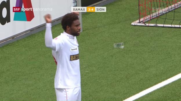 Video «Sion gewinnt Cup-Spektakel in Neuenburg» abspielen