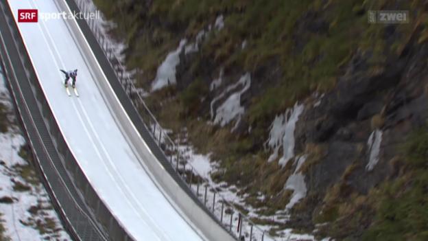 Video «Skispringen: Morgenstern stürzt in Bad Mitterndorf schwer» abspielen