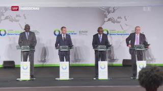 Video «Lage der Flüchtlinge in Libyen Thema am Afrika-Gipfel» abspielen