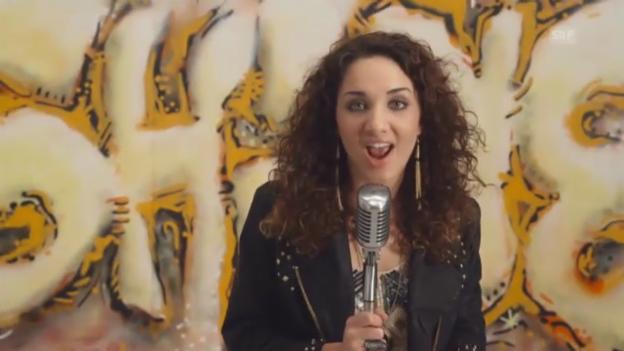 Video «Natália Kelly mit «Shine»» abspielen