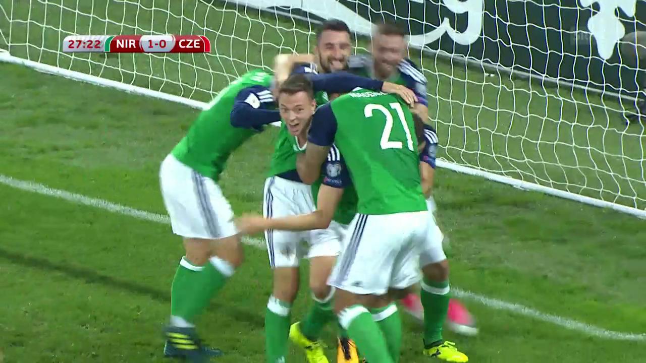 Nordirland - Tschechien: Die Tore