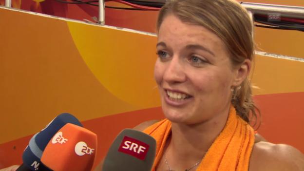 Video «LA-WM: Interview mit Dafne Schippers» abspielen