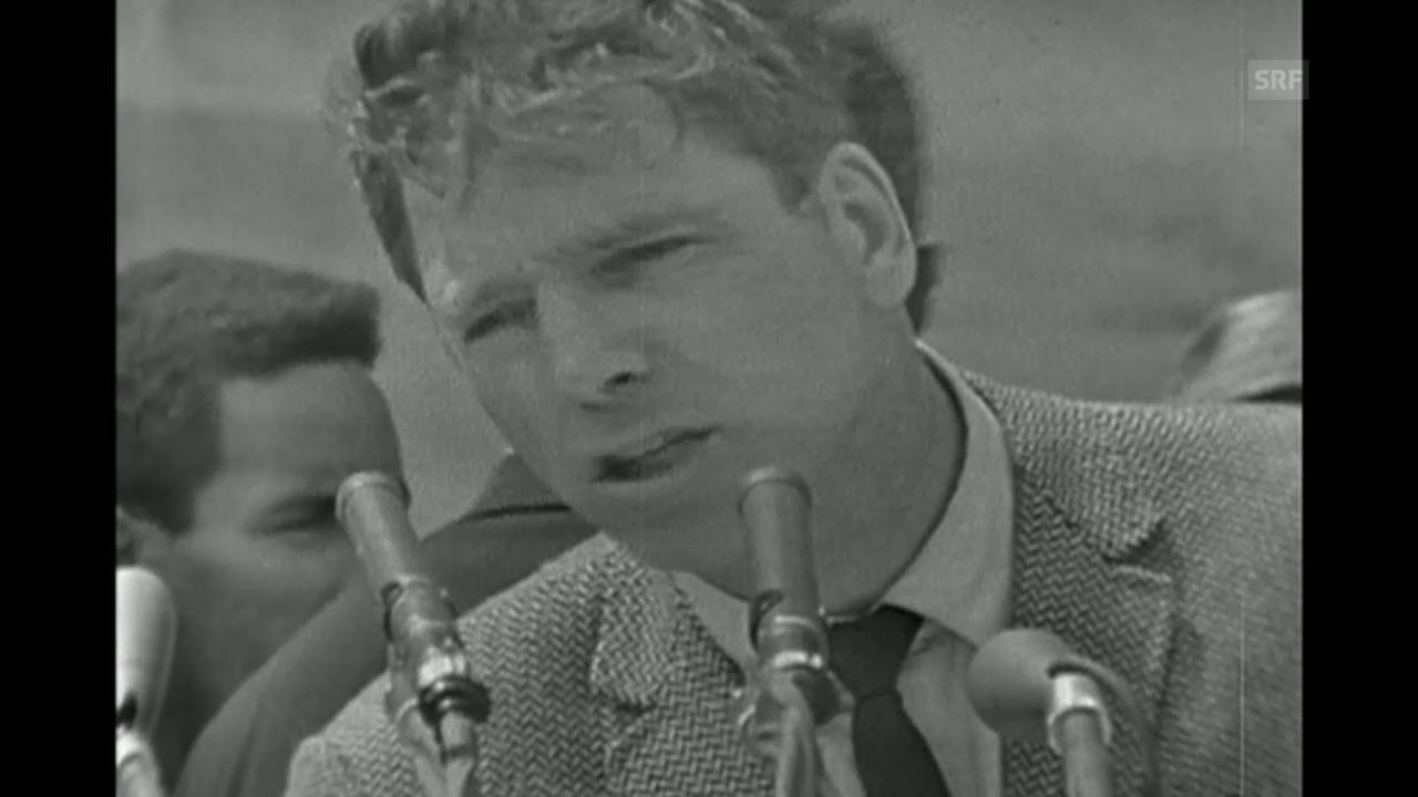 Burt Lancaster, Schauspieler und politischer Kämpfer.